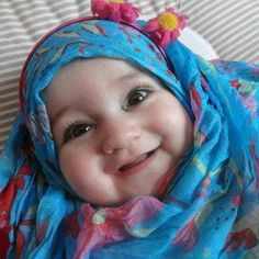 baby hijab Young Beautiful Hijabi in The Worlds Hijabers Cilik Cantik Sedunia hijabcornerid.com/