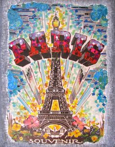 paris art | the paris collage by caffeinatedkatie traditional art collage this is ...