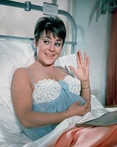 A still from Carry on Doctor featuring Dilys Laye who had a great and often comic romantic pairing with Bernard Bresslaw, in this film, and also Carry On Camping two years later. British Actresses, British Actors, Actors & Actresses, Sidney James, Classic Comedies, Babe, British Comedy, Marilyn Monroe Photos, Comedy Tv