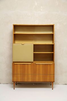 Anonymous; Ash and Skai Cabinet by VEB, 1969.