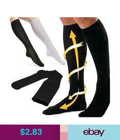 2657b48fb4a Hosiery Travel Flight Stockings Knee High Anti-Fatigue Compression Socks   ebay  Fashion Support
