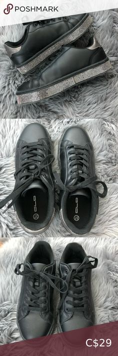 I just added this listing on Poshmark: Women's black sparkle sneakers - size 37 ^^ Fila White Sneakers, Lacoste Sneakers, Coach Sneakers, Puma Sneakers, Slip On Sneakers, Leather Sneakers, Shoes Sneakers, Puma Suede Shoes, Superga Shoes
