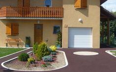 Projet d'aménagement d'allée de garage en stardraine®
