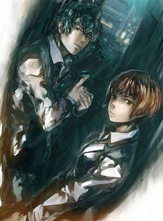 HD wallpaper: Psycho-Pass, Tsunemori Akane, Kougami Shinya , one person, indoors Kogami Shinya, Avatar, Natsume Yuujinchou, Psycho Pass, Psychotic, Anime Love, Anime Couples, Kawaii Anime, Anime Manga