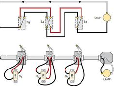 6ed86a41d82442fdbb1b50ab74817239  Separate Way Switches Wiring Diagrams on three lights, power light, diagram 4 wires, single light two, diagram power fixture, multiple lights, diagram diy, diagram 2wire,
