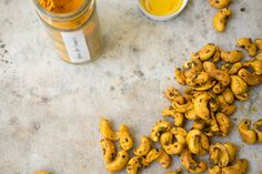 Turmeric Cashews - Turmeric Cashews tossed with cayenne, nori, and sesame. Inspired by The Good Gut written by Stanford researchers Justin and Erica Sonnenburg. Keep your microbiota happy. - from 101Cookbooks.com