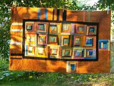 Liberated Log Cabin Quilt