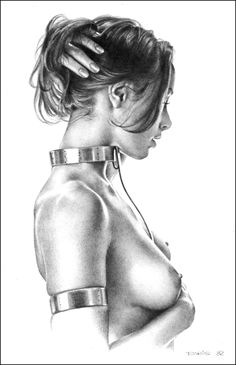 Collared by Boris Vallejo