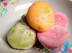Homemade Japanese Mochi Ice Cream...out of this world!!