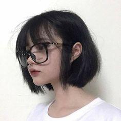 Creative Hairstyles, Cute Hairstyles, Long Hair Drawing, Korean Haircut, Filipina Beauty, Shot Hair Styles, Pastel Goth Fashion, Cute Korean Girl, Aesthetic Hair
