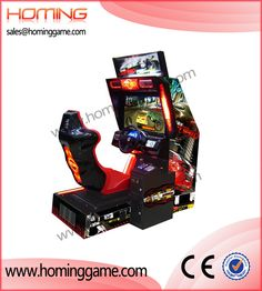 Crazy Speed racing car game machine/Hot sale hd car game machine(sales@hominggame.com) http://www.hominggame.com/show_Product_en.asp?ID=11
