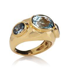 Rarities: Fine Jewelry with Carol Brodie 4.2ct Sky Blue Topaz and London Blue Topaz