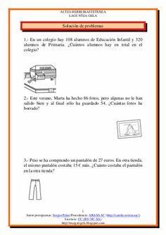 Mejores 33 imágenes de Matemáticas problemas en Pinterest ...