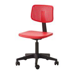 ALRIK Työtuoli IKEA Säädettävän istumakorkeuden ansiosta tuolissa on helppo löytää hyvä asento.
