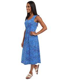Royal Robbins Essential Floret Dress Dark Lapis - Zappos.com Free Shipping BOTH Ways