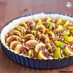 Fig Tart with Pecans and Goat Cheese...