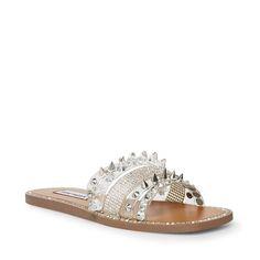LEANDRA CLEAR – Steve Madden Steve Madden Store, Palm Beach Sandals, Heels, Silhouette, Seasons, Closet, Products, Fashion, Moda