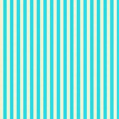 Free Digital Scrapbook Paper - Aqua & Cream Stripes