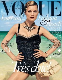 Säästä muotinäytös rahat ja osta Saksan oma Vogue =) Seuraksi ei välttämättä tarvitse kuin kupin kahvia tai saksan herkku-oluita.