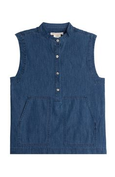 MARC BY MARC JACOBS Denim Blouse. #marcbymarcjacobs #cloth #tops