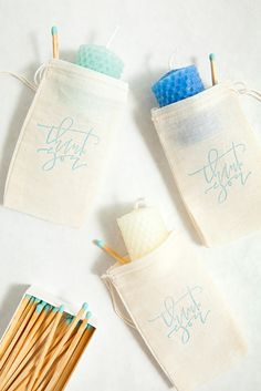 DIY // How to make rolled beeswax votive gifts that are easy and fun!