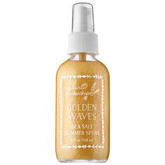 Golden Waves Sea Salt Shimmer Spray - Captain Blankenship | Sephora