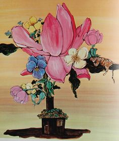 Tiger Flower by Fleur Cowles and Robert Varva. A treasure, indeed!