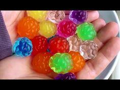 Water Balz Jumbo PART 2 Invisible Polymer Balls - YouTube