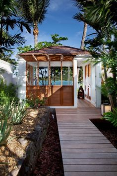 The 'Sereno Hotel & Villas' located in Saint Barth, French West Indies - Designed by Christian Liaigre