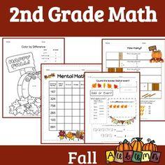 2nd Grade Math: FALL | 2nd Grade daily math | 2nd grade Bell work