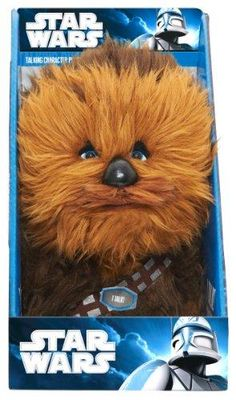 "Star Wars 9"" Talking Plush - Chewbacca - http://coolgadgetsmarket.com/star-wars-9-talking-plush-chewbacca/"
