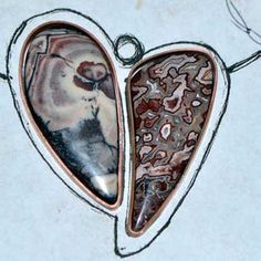 5 Favorite Jewelry Making Projects That Surprise Us, Jeff Fulkerson, heart to heart necklace