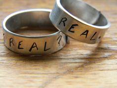 Hunger Games inspired Real or not real Real TWO par LindaMunequita, $18,00