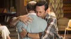 Jon Hamm as Don Draper in the 'Mad Men' finale