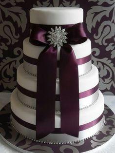 Purple wedding from stylish Eve