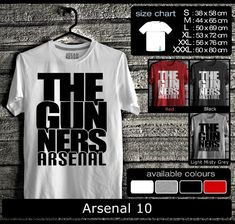 Kaos Arsenal FootBall Club | Kaos The Gooners Mania 3