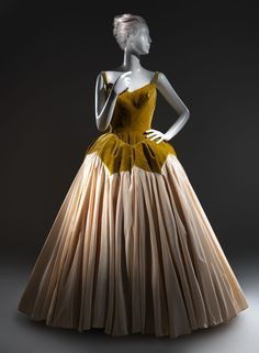 """""""Petal"""" by Charles James, 1951  From the Metropolitan Museum of Art Pinterest"""