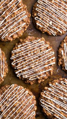 Cinnamon Roll Oatmeal Cookies | 15 Spectacular Oatmeal Cookies That Are Better Than Sex