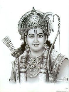 Lord Rama - Hindu Posters (Reprint on Paper - Unframed) Hanuman Images, Lord Krishna Images, Hanuman Photos, Sri Ram Photos, Sri Ram Image, Ram Sita Image, Shree Ram Images, Lord Sri Rama, Shri Ram Wallpaper