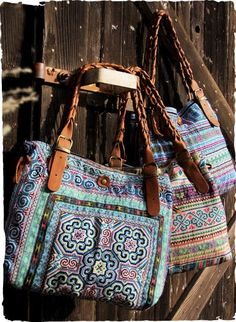 This one-of-a-kind bag is handcrafted using authentic vintage textiles 5d682aa0427f5