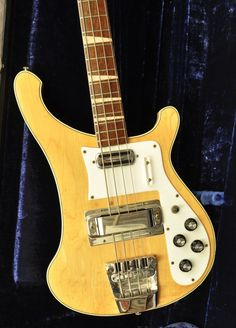 1970 RIckenbacker 4001 Bass Guitar (21 Frets)