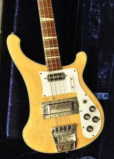 1970 RIckenbacker 4001 Bass Guitar (21 Frets)