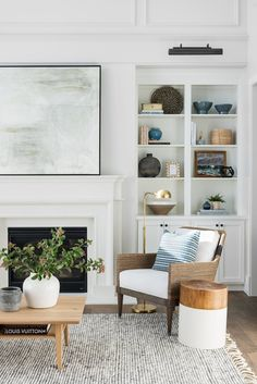 Living Room Decoration Ideas with Wall Art for Interior Design via Shop The Look Pins Home Living Room, Living Room Designs, Living Room Decor, Living Spaces, Living Room Inspiration, Home Decor Inspiration, Decor Ideas, Lamp Ideas, Room Ideas