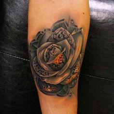 Unique Rose Tattoo I love!