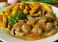 No Cook Meals, Japchae, Thai Red Curry, Food Videos, Food And Drink, Pizza, Menu, Sweets, Bread