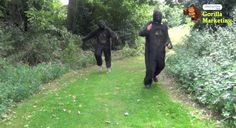 Michael Breeze and Andrew Miles of Interactive Ideas took part in the 7k Great Gorilla Run on September 22nd 2012 in London dressed in full Gorilla Costume.