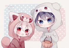 34 ideas for wall paper anime kawaii casal Anime In, Manga Anime, Art Anime, Anime Neko, I Love Anime, Anime Guys, Anime Naruto, Dibujos Anime Chibi, Cute Anime Chibi