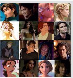 Disney The Vampire Diaries lookalike...