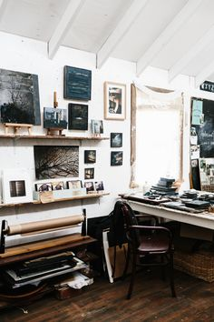 The studio of Helene Athanasiadis via Outer Towners