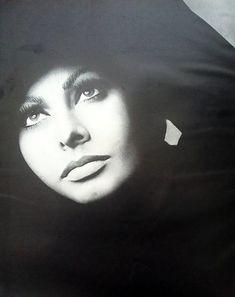 Richard Avedon - Sophia Loren Portrait